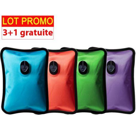 Lot de 4 Bouillottes Magiques électriques - PM - 3+1 gratuite