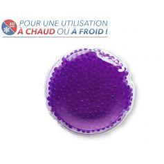 Bouillotte à perles moyen modèle - Violette