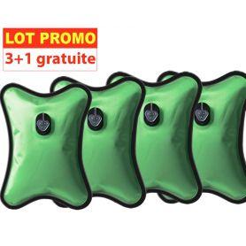 Lot de 4 Bouillottes Magiques électriques - GM - 3+1 gratuite - vert
