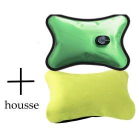 Bouillotte Magique électrique + housse Verte