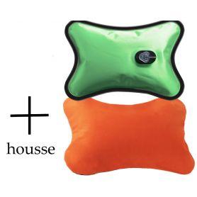 Bouillotte Magique électrique + housse Orange