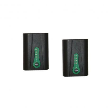2 Batteries pour gants chauffants à pile