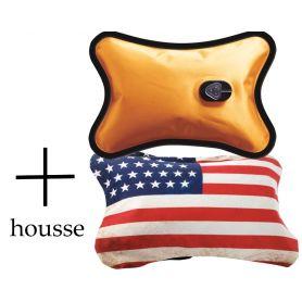 Bouillotte Magique électrique + housse USA