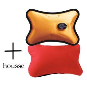 Bouillotte Magique électrique + housse Rouge