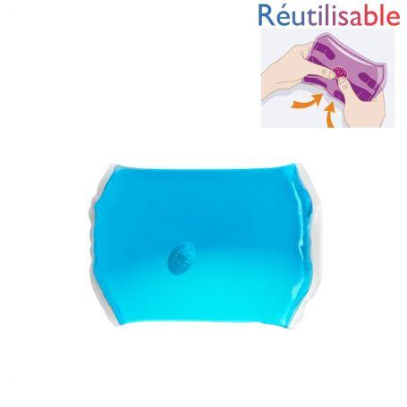 Bouillotte pastille - moyenne bleue