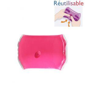 Bouillotte pastille - moyenne rose
