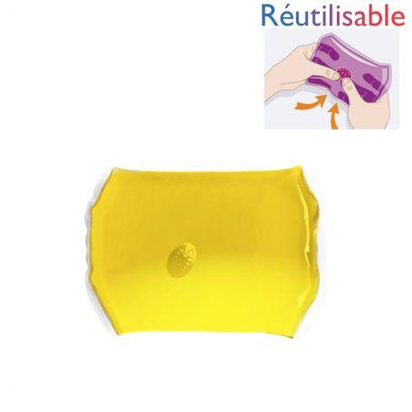Bouillotte pastille - moyenne jaune