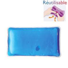Bouillotte pastille - grande bleue