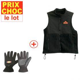 Veste + gants réchauffants
