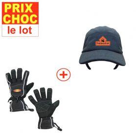 Casquette + gants Sport chauffants