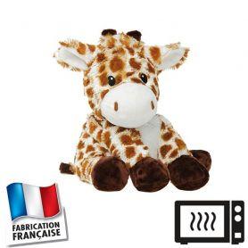 Peluche bouillotte Girafe