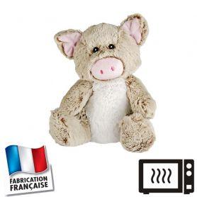 Peluche bouillotte Cochon