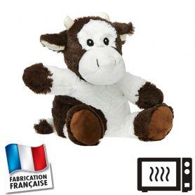 Peluche bouillotte Vache