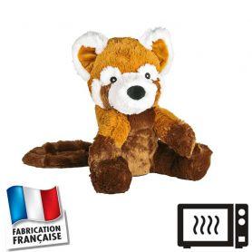 Peluche bouillotte Panda roux