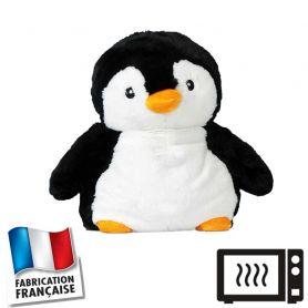 Peluche bouillotte Pingouin