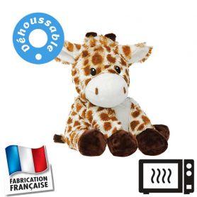 Peluche bouillotte déhoussable Girafe