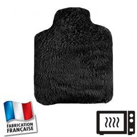 Bouillotte micro-ondes noire