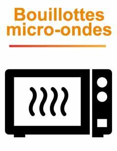 Bouillotte micro ondes