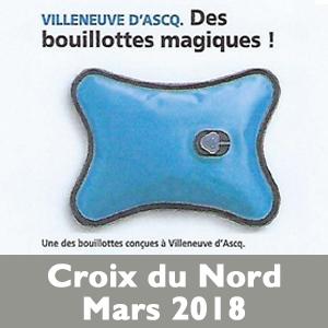 Croix du Nord Bouillotte Magique