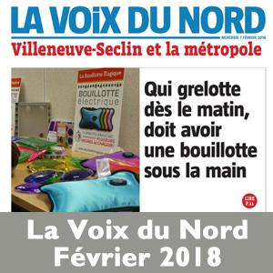 Voix du Nord Bouillotte Magique